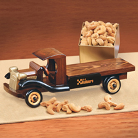 1930-Era Flat Bed Truck with Extra Fancy Jumbo Cashews
